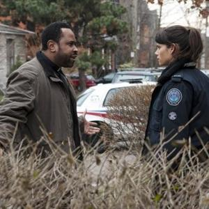 Still of Benz Antoine and Missy Peregrym in Rookie Blue (2010)