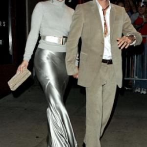 Jennifer Lopez and Marc Anthony at event of An Unfinished Life 2005