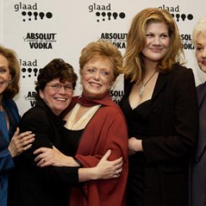 Valerie Harper, Rue McClanahan, Kristen Johnston and Bea Arthur