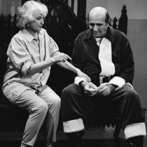 Bea Arthur and Herb Edelman