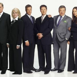 Candice Bergen, William Shatner, James Spader, Rene Auberjonois, Rhona Mitra, Mark Valley