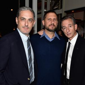 David Ayer, John Lesher and Bill Block at event of Inirsis (2014)