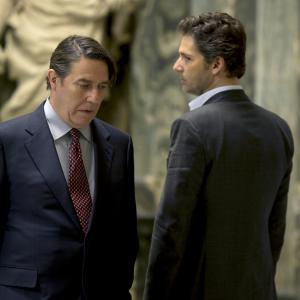 Still of Ciarn Hinds and Eric Bana in Closed Circuit 2013