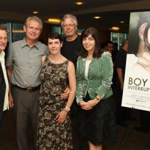 Michael Bacon Hart and Dana Perry Geof Bartz and Nancy Abraham at HBO screening of Boy Interrupted