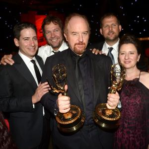 Dave Becky, Blair Breard, Louis C.K., Nick Grad