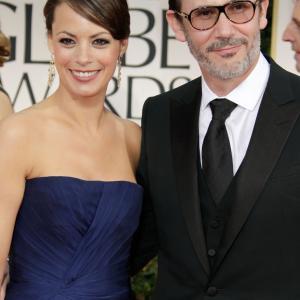 Brnice Bejo and Michel Hazanavicius