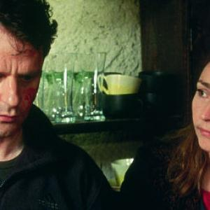 Still of Lucas Belvaux and Catherine Frot in Cavale 2002