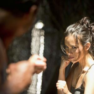 Still of Manu Bennett and Celina Jade in Strele: Unfinished Business (2013)