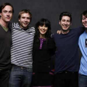 Chris Klein, Stephen Berra, Zooey Deschanel, Patrick Fugit, Mark Webber