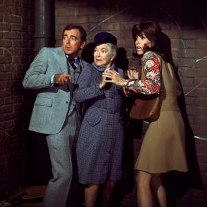 Ken Berry, Helen Hayes, Stefanie Powers