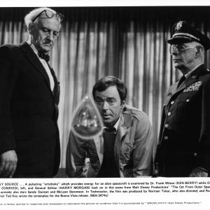 Ken Berry, Hans Conried, Harry Morgan