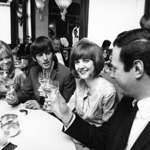 Cilla Black, Pattie Boyd, Brian Epstein, George Harrison