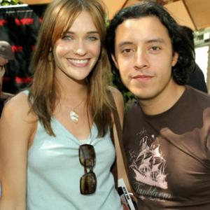 Bre Blair and Efren Ramirez