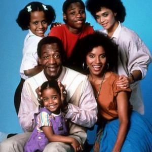 Cosby Show The K Knight Pulliam B Cosby T Bledsoe M Jamal Warner L Bonet P Rashad C 1985 NBC