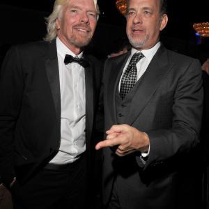 Tom Hanks and Richard Branson