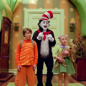 Mike Myers, Spencer Breslin, Dakota Fanning