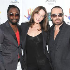 Carla Bruni, Will.i.am