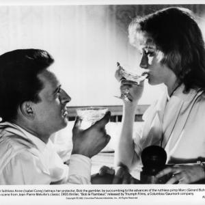 Still of Grard Buhr and Isabelle Corey in Bob le flambeur 1956