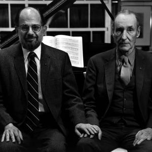 Still of William S Burroughs and Allen Ginsberg in William S Burroughs A Man Within 2010