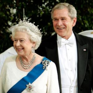 George W. Bush, Queen Elizabeth II