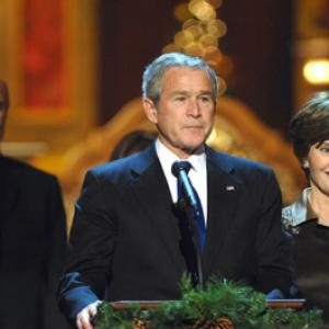 George W. Bush, Phil McGraw, Laura Bush