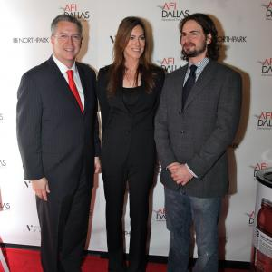 Michael Cain Kathryn Bigelow and Mark Boal April 2009 AFI DALLAS Premiere of THE HURT LOCKER and Presentation of the Dallas Star Award to Kathryn Bigelow