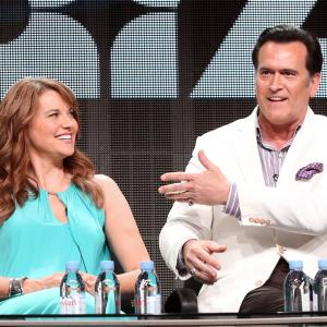 Lucy Lawless, Bruce Campbell