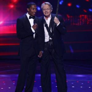 Still of Jerry Springer and Nick Cannon in America's Got Talent (2006)