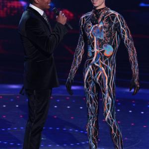 Still of Nick Cannon and Matt Wilhelm in America's Got Talent (2006)