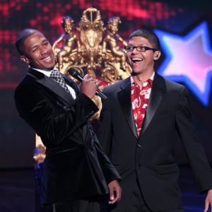 Still of Nick Cannon and Tay Zonday in America's Got Talent (2006)