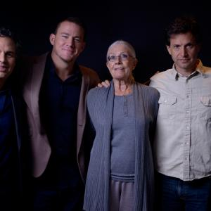 Vanessa Redgrave Steve Carell Bennett Miller Mark Ruffalo and Channing Tatum at event of Foxcatcher 2014