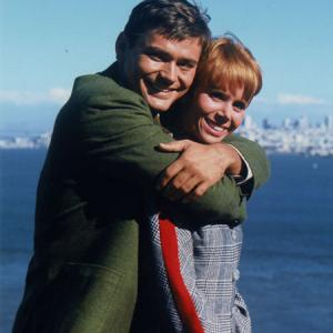 Judy Carne and Pete Duel
