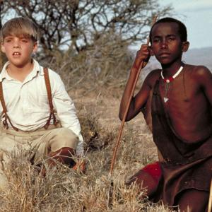Still of Corey Carrier and Isaac Senteu Supeyo in The Young Indiana Jones Chronicles (1992)