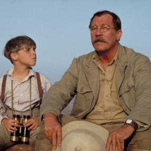 Still of Corey Carrier and James Gammon in The Young Indiana Jones Chronicles (1992)