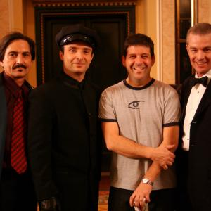 The Pierre Heist with cast and Director Gary Burns