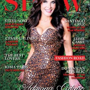 Latino Show Luxury Magazine Cover