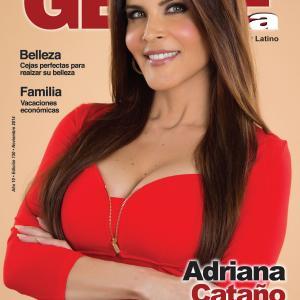 Gente Latina Magazine Cover November 2014 issue