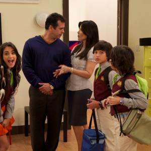 On set Nickelodeon- Grachi season 1