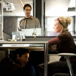 Still of Eric McCormack Monica Potter and Tom Cavanagh in Trust Me 2009