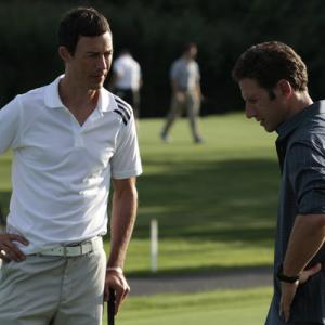 Still of Tom Cavanagh and Mark Feuerstein in Royal Pains 2009