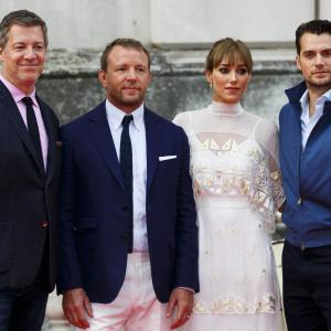 Guy Ritchie, Henry Cavill, Lionel Wigram, Jacqui Ainsley
