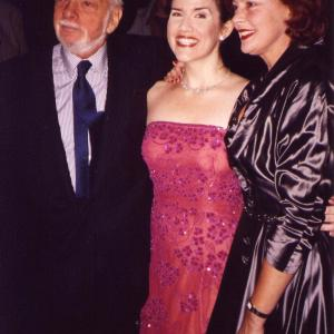 Hollywood Arms Broadway, opening night with Hal Prince and Michele Pawk