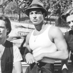 Still of Benjamin Bratt, Jesse Borrego and Damian Chapa in Bound by Honor (1993)