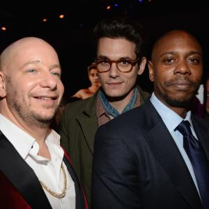 Dave Chappelle, Jeffrey Ross, John Mayer