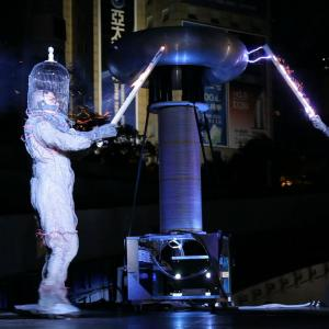 still of Dr Megavolt live performance 12/10/2011 Fullfillment Ampitheatre, Taichung, TAIWAN