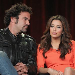 Ricardo Chavira and Eva Longoria