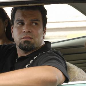 Still of Ricardo Chavira and Dania Ramirez in Ball Don't Lie (2008)