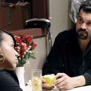 Still of Ricardo Chavira and Gleendilys Inoa in Don't Let Me Drown (2009)