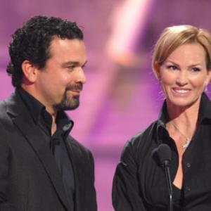 Ricardo Chavira and Janet Jones