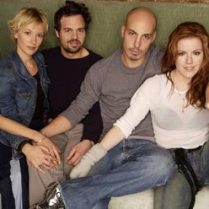 Kathleen Robertson, Austin Chick, Mark Ruffalo, Maya Stange and Petra Wright at event of XX/XY (2002)